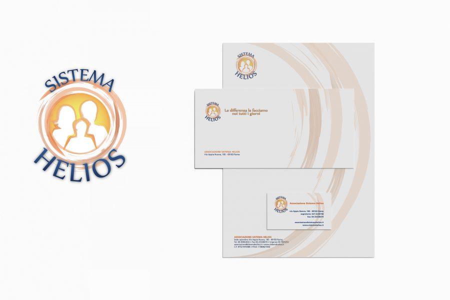 Identità aziendale Associazione Sistema Helios