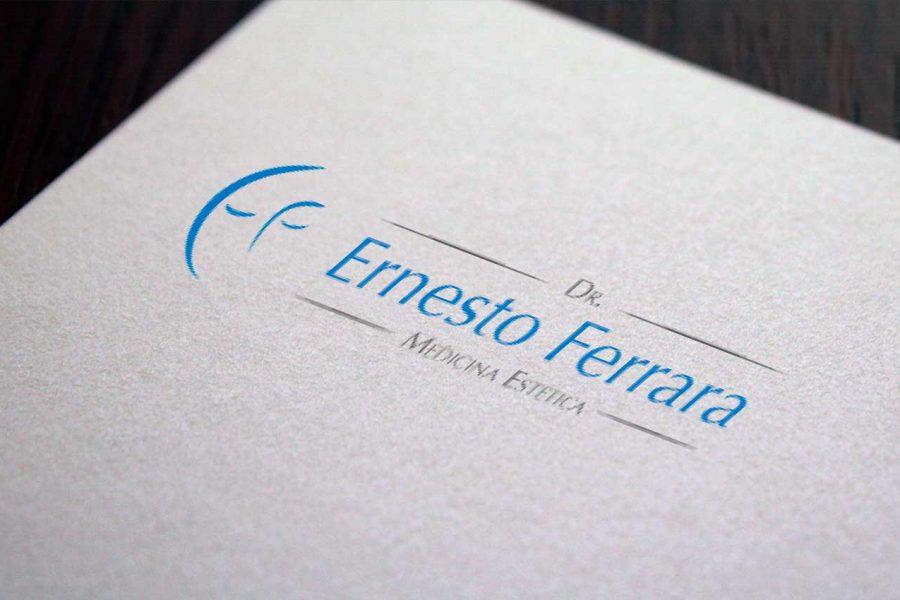 Identità aziendale Dr. Ernesto Ferrara