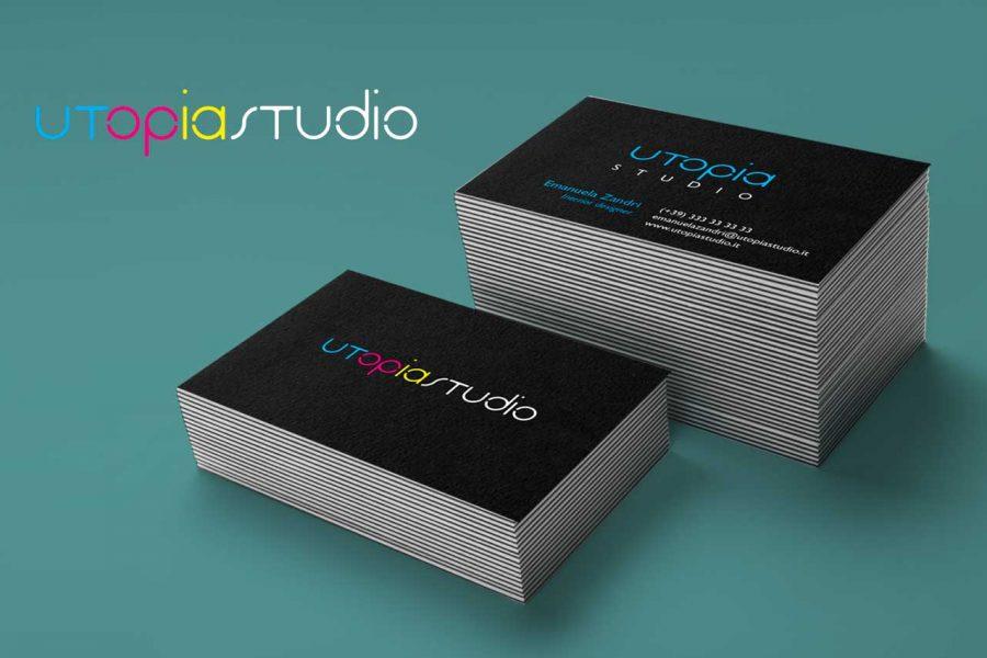 Identità aziendale Utopia Studio