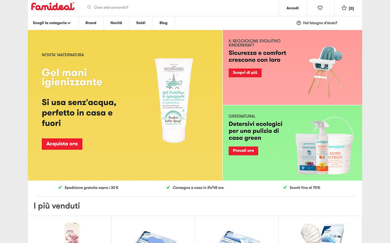 realizzazione sito web famideal