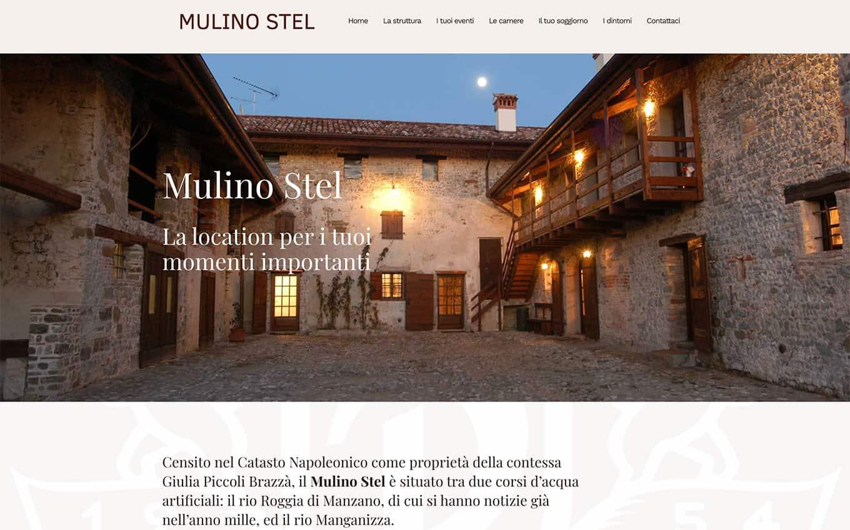 realizzazione sito web mulino stel
