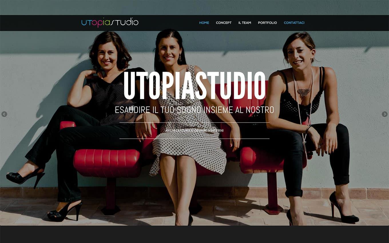 realizzazione sito web utopia studio